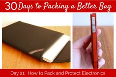 30 Days to Packing a Better Bag – Day 21: Packing and Protecting Electronics