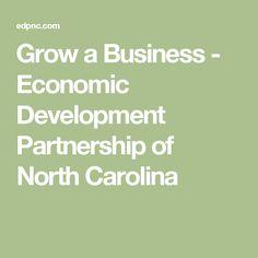 Grow a Business - Economic Development Partnership of North Carolina