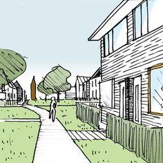 Tenderontwerp voor stedenbouwkundig plan en verkavelingsplan voor 160 woningen in de havenenclave Heijplaat; i.o.v. Smit's Bouwbedrijf (2015)