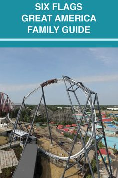 Not sure what to do at Six Flags? With more than 45 attractions, we broke down what to expect on your next visit in our family guide below. Great America, Six Flags, Fun Activities, Attraction, Things To Do, Things To Make