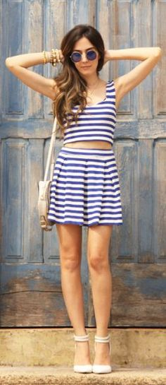Look Du Jour: My Kind Ofblue by Fashion Coolture