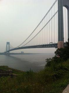The Verrazano Bridge