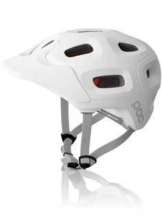 Trabec Race bike helmet by poc. Uses MIPS technology, making it one of the safest helmets available. Cycling Helmet, Cycling Outfit, Bicycle Helmet, Mountain Bike Helmets, Mountain Biking, Mtb, Poc Helmets, Online Bike Store, Helmet Design