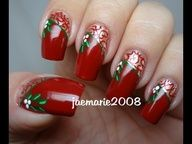 Hi Everyone! Here is a simple yet elegant nail design. This is perfect for Christmas parties and any holiday events you are planning to go to!  This design will go good on short and long nails. If you dont have stamping plates you can definitely do this design without it, the gold itself will give the design a nice touch to your nails!  I hope y...