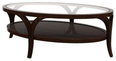 Useful Oval Glass Top Coffee Tables About Interior Decor Home