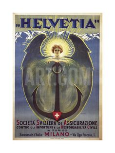 Helvetia Poster by Umberto Boccioni, 1909 Giclee Print by Umberto Boccioni at Art.com