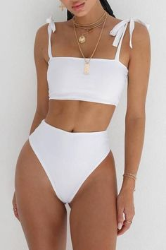 67 Summer Bikinis Ideas Beach Outfits and Swimsuits for Women - The Finest Feed Vacation Swimsuits and Beachwear for women. Womens Affordable bikinis, swim suit cover ups. Summer bikini and beach outfit ideas. Source by outfit swimsuits Sexy Bikini, Bikini Swimwear, Women Bikini, Bandeau Bikini, Sporty Bikini, Strapless Swimsuit, Bikini Dress, Bikini Mom, Men Swimwear