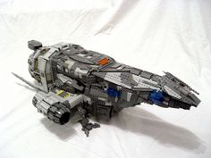 LEGO Serenity...now all we need are minifigures of Mal and the crew...