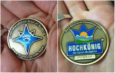 Looking to add to your Geocoin collection? Check out THE HIGHKING CODE GeoTour in Austria. 35 geocaches, 35 symbols to decode, and one beautiful new geocoin to earn!