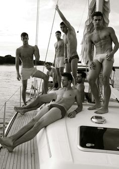 Did I mention I also love yachts, with beautiful men on them.?