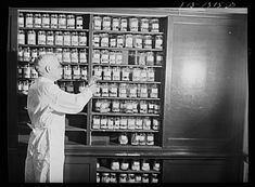 I had a hard time choosing this photo. Mental Floss article today on Dr's. This Dr. was photographed in the 1940's with his collection of ticks, collected to stop the spread of Typhus.