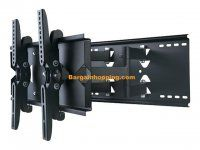 New Heavy Duty Universal Adjustable Tilting/Swiveling Articulating Full Motion Dual Arm Articulating Full MotionTV Wall Mount Bracket for LCD LED Plasma - Black (Max Max VESA Magnavox Tv Wall Brackets, Tv Wall Mount Bracket, Wall Mounted Tv, Swivel Tv Wall Mount, Swivel Tv Stand, Articulating Tv Mount, Tv Stand Room Divider, Tv Furniture, Led