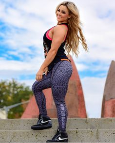 @strongliftwear  Womens Compression Pant - Leopard #gym #fashion #liftwear #women #fitness www.strongliftwear.com