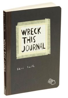 Wreck This Journal ~ Not sure if this goes under inspiration, let's get crafty or products I love, as it's all of the above!!!  So fun!! :) And a great way to break that writer's block that a brand new journal full of intimidating blank pages can sometimes create, at least for me!