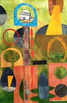 Michèle Brown Artist - The Old Cells Studio: Landscaped garden