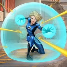 """Patrick Brown on Instagram: """"Susan Storm - Invisible Woman Here's some more work for the F4 project for Marvel, had a lot of fun with these, drawing her powers was…"""" Marvel Animation, Invisible Woman, Brown Art, Marvel Comic Character, Fantastic Four, Comic Art, Marvel Comics, Avengers, Geek Stuff"""