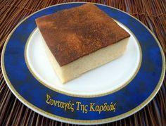 Milk Pie -  Γαλατόπιτα Greek Desserts, Greek Recipes, Honey Cake, Sweets Cake, Tiramisu, Biscuits, Cheesecake, Brunch, Snacks