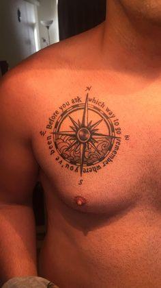 Love this heart on my sleeve compass tattoo design, sea tattoo и compass ta M Tattoos, Anchor Tattoos, Body Art Tattoos, Small Tattoos, Sleeve Tattoos, Tattoos For Guys, Sea Tattoo, Tiger Tattoo, Tattoo Sleeve Designs