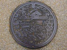 Tsuwano Shimane, manhole cover (島根県津和野町のマンホール) | Flickr - Photo Sharing!