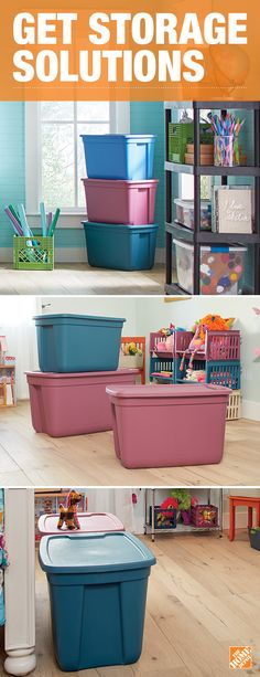 Perfect for small spaces or rooms that collect clutter, these multi-purpose storage essentials are sure to help you get organized and create more room in your apartment or house. Click to explore these and more storage solutions.