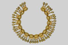 Gold Turtle Necklace, AD 1400-1521, Mexico (Dumbarton Oaks, Pre-Columbian Collection, Washington, DC)