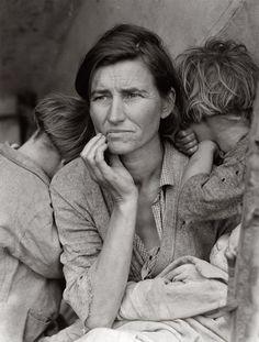 """Migrant mother"", ©Dorothea Lange, 1936"