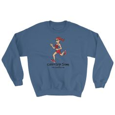 I Run, Therefore I Am - (Latin) - Sweatshirts | Simplest online print product marketplace in existence