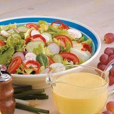 Honey-Mustard Salad Dressing Recipe
