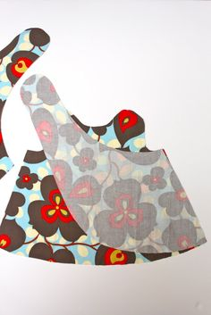 Crossover Pinafore Pattern