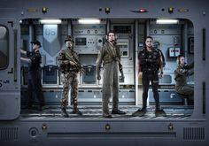 Defence Forces Recruitment by Lightfarm Studios, via Behance