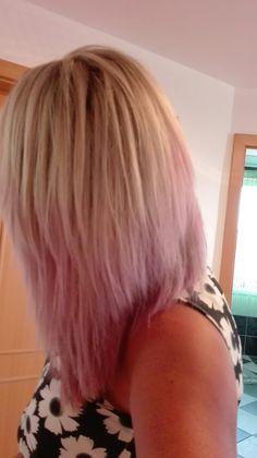 Summer purple ombre hair 2017