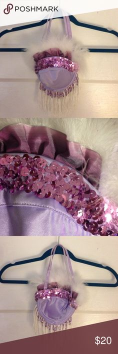 ea7a1c915d Adorable Purple Burlesque Bra Purse My grandma use to make the adorable  purses out of bras