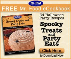 FREE Mr. Food Spooky Treats and Party Eat eCookbook