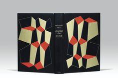 Book Cover Design, Book Design, Book Folding, Minimal Design, Book Art, Modern Art, Auction, Art Deco, Graphic Design
