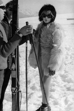 Ski Fashion Inspiration 2016 - Celebrity Skiing Fashion Trend | British Vogue