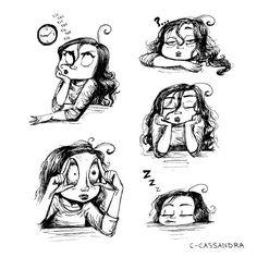 C. Cassandra sleepy Art Print