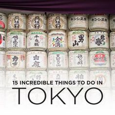 15 amazing things you'll want to try in Tokyo, Japan