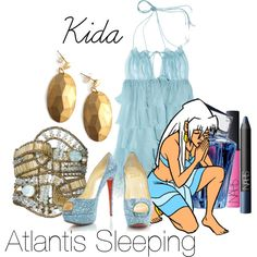 """Kida, Atlantis the Lost Empire"" by captainku on Polyvore"