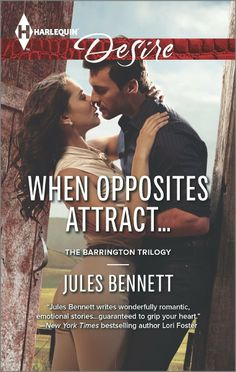 Amazon.com: When Opposites Attract... (The Barrington Trilogy) eBook: Jules Bennett: Kindle Store