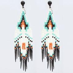 Gas Bijoux colored pendants earrings