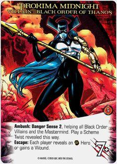 Proxima Midnight, Black Order, Marvel, Hero, Movie Posters, Film Poster, Billboard, Film Posters