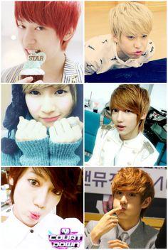 #kpop #Boyfriend #Donghyun #HyunSeong #Jeongmin #Youngmin #Kwangmin #Minwoo #aeygo #cute