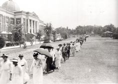 1917 Commencement at Tuskegee