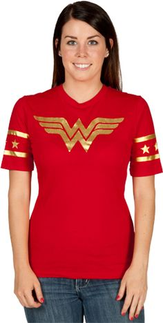 Foil Logo Wonder Woman Shirt  Product number: DCCOM377  ... $26.00