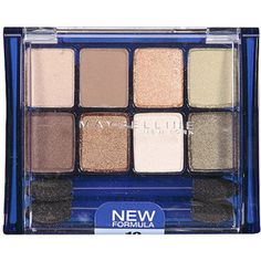 Best drug store eyeshadow palette - Maybelline Expert Wear in Sunbaked Neutrals