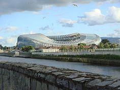 Estadio Aviva ubicado en Dublin, Irlanda