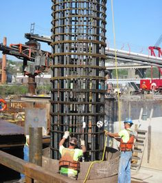 socketed caisson foundation - Google Search