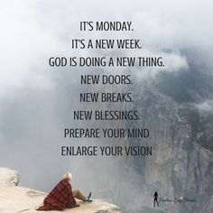 What Are You Doing With Your Week!
