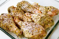 lemon, garlic & thyme drumsticks - because organic drumsticks are the most affordable chicken cut and these are quick and yummy!