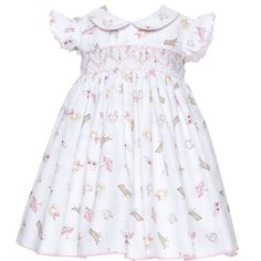 Betty Chateau de Sable Pink Baby Dress